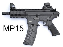 Smith & Wesson - MP15 short